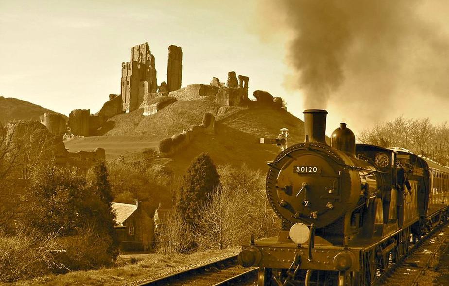 Corfe Castle Steamtrain