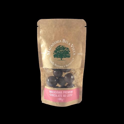 Macadâmia com chocolate ao leite - 60g