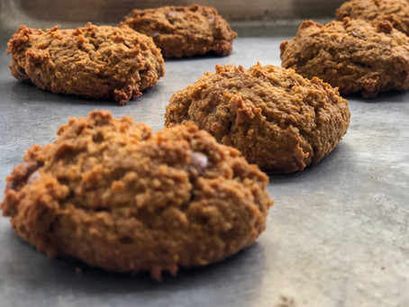 Cookie de macadâmia com chocolate