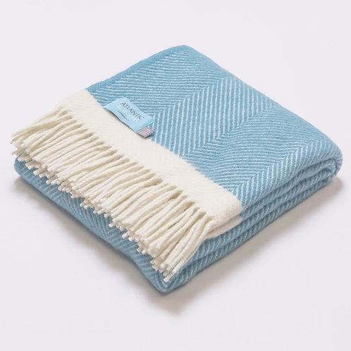 Sennen Cove Herringbone Blanket