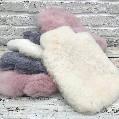 Luxury Sheep Wool Hot Water Bottle