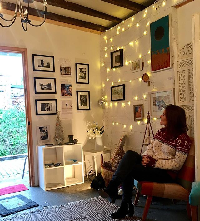 Sophie in The Stable 🎄__#original #hanwell #london #store #shop #startupsisters #girlboss #entrepre