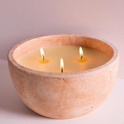 Luxury Sea Salt Bowl Candle