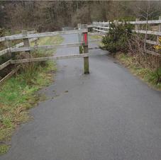 the clay trails near car park.JPG