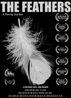 feathers poster July 15th