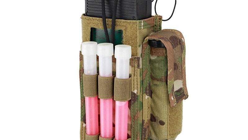 MOLLE PRC148 152 Radio Pouch With Flash Light Pouch