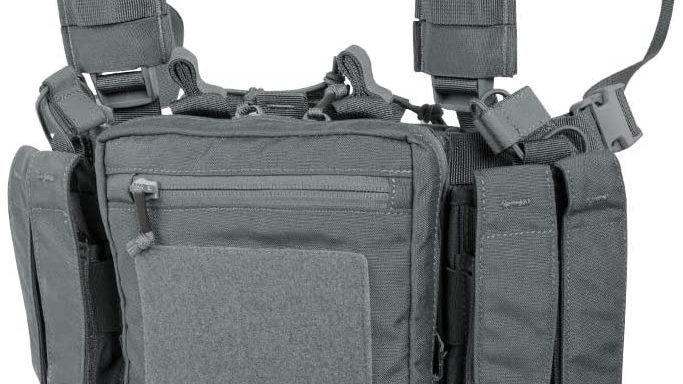 HELIKON MINI CHEST RIG (GREY) COMPETITION ENTRY