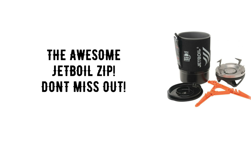 JETBOIL ZIP COMPETITION ENTRY