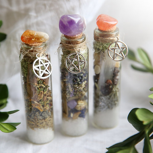 Crystal Witch Terrarium Bottle x 1
