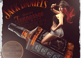 Dani Divine and the JD Bottle!