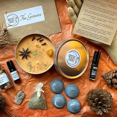 Witchy Candles Monthly Treasure Box - ALL HALLOWS (OCTOBER)
