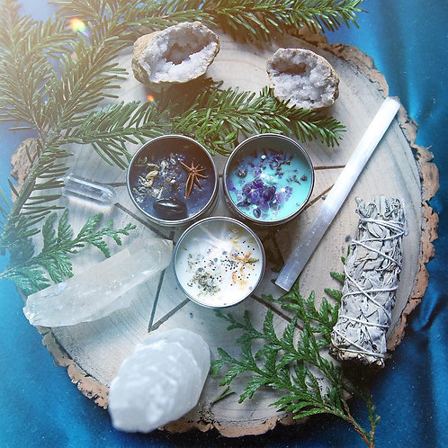 Moon Esbat Candle Collection
