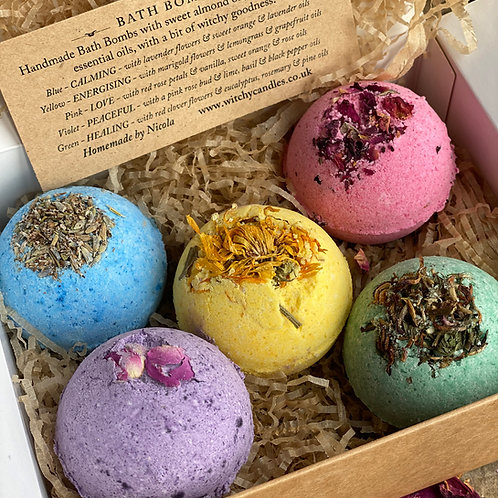 Witchy Bath Bombs x 5