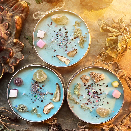 FAERIE GARDEN Witchy Wiccan Candle