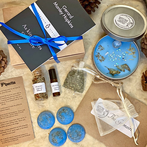 Witchy Candles Monthly Treasure Box - HEALING (NOVEMBER)