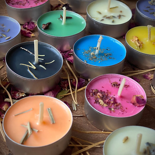 Witchy Ritual Tealight Candles