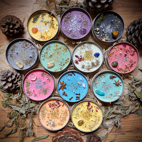 ZODIAC Witchy Wiccan Candles