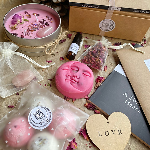Witchy Candles Monthly Treasure Box - LOVE (FEBRUARY)