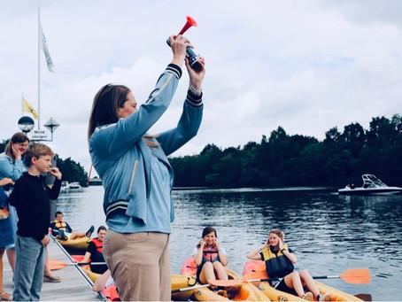 Recreatieve sporters opgetogen over de 1ste kayak-bike-run