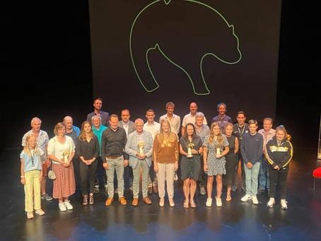 Uitreiking trofeeën voor sport 'Gouden Beren'