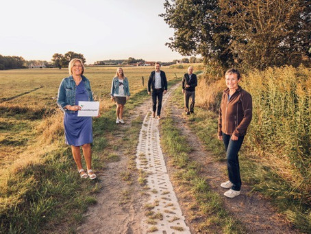 Trage Weg in Oostveld krijgt de straatnaam 'Cavelotterspad'