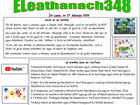 eLeathanach - weekly newspaper for kids