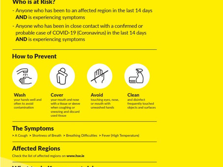 Coronavirus Advice for Schools