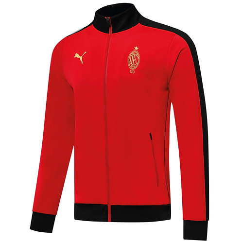 A.C. Milan 120. Yıl Özel Maç Önü Ceketi