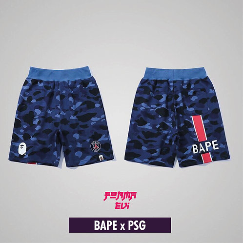 BAPE x PSG Şort