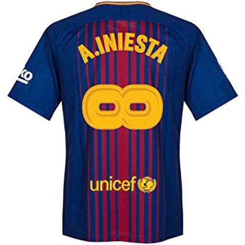 """Barcelona x Andres Iniesta """"Infinity"""" Forması"""