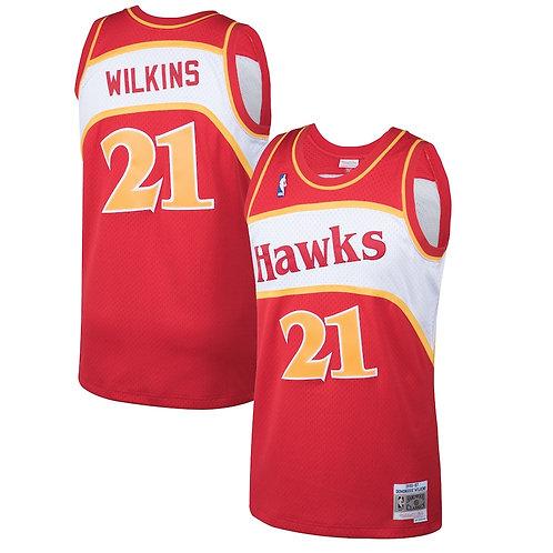 Dominique Wilkins x Atlanta Hawks 1986 Forması