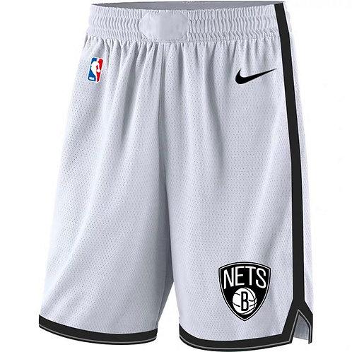 Brooklyn Nets Beyaz Şort