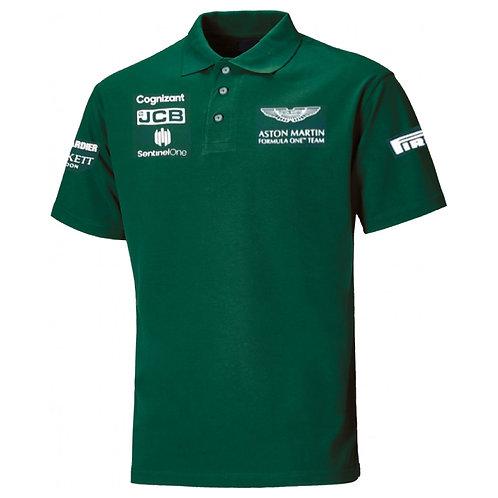 Aston Martin Cognizant F1 Polo Shirt