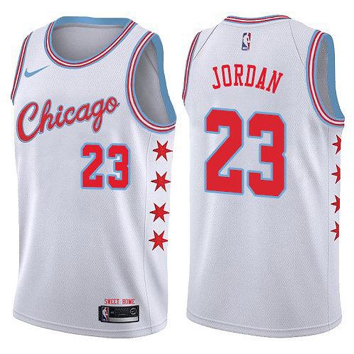 Chicago Bulls Beyaz City Forması