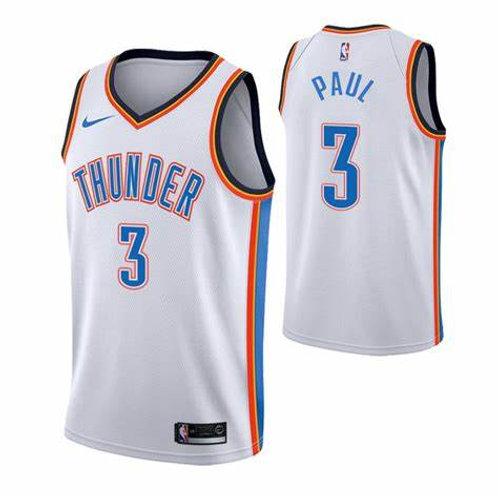 Oklahoma City Thunder Beyaz Formaları