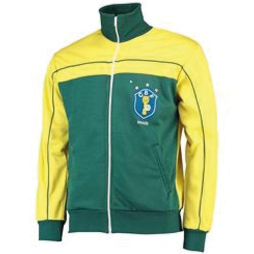 Brezilya 1982 Maç Önü Ceketi