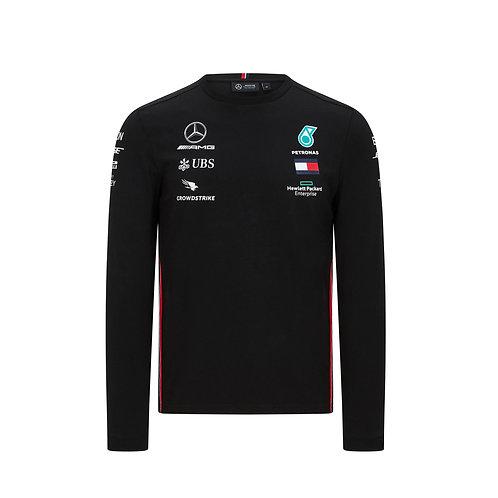 Mercedes AMG Petronas 2020 Team Forması - Siyah Uzun Kollu