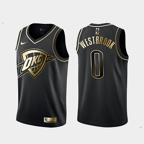 #0 Westbrook OKC Golden Edition Forması