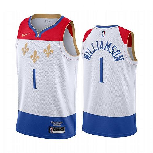 New Orleans Pelicans 2021 City Edition Fleur-de-Lis Forması