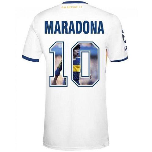 Boca Juniors 20/21 Deplasman Forması - Özel Üretim Maradona Baskılı