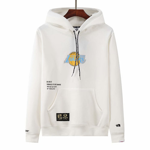 Los Angeles Lakers x BAPE Hoodie