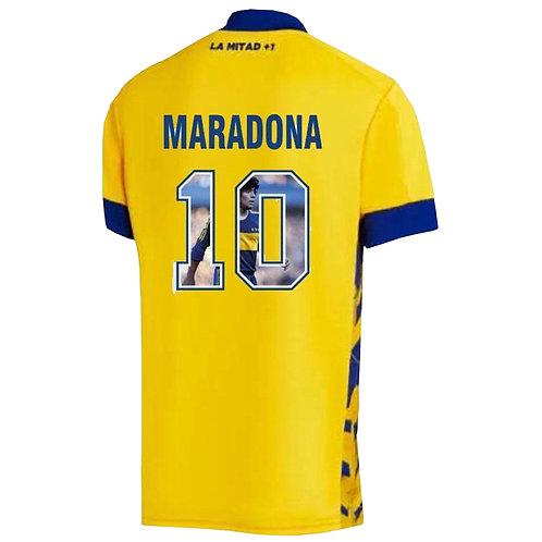 Boca Juniors 20/21 Alternatif Forması - Özel Üretim Maradona Baskılı