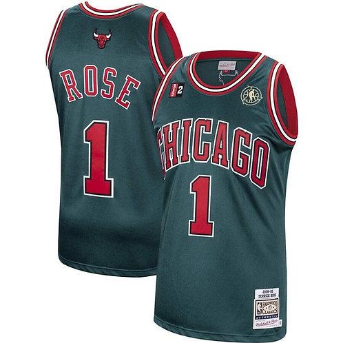 Derrick Rose x Chicago Bulls Mitchell & Ness Hardwood Classics 2008 Forması