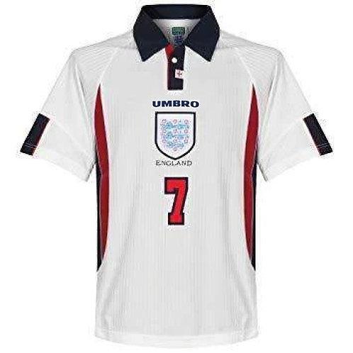 İngiltere 1998 İç Saha Forması #7 BECKHAM