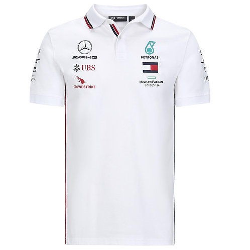 Mercedes AMG Petronas F1 Team Polo Shirt