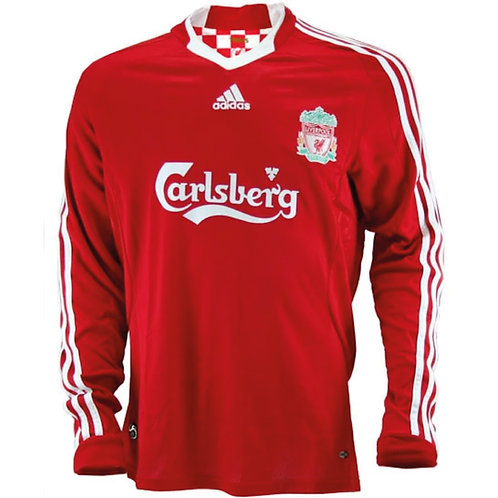 Liverpool 08/09 Uzun Kollu İç Saha Forması