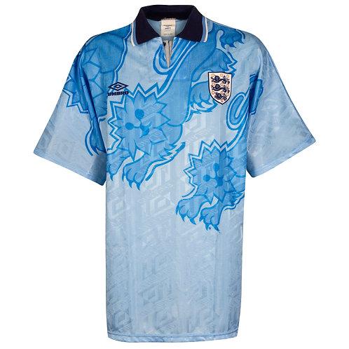 İngiltere 1992 Deplasman Forması