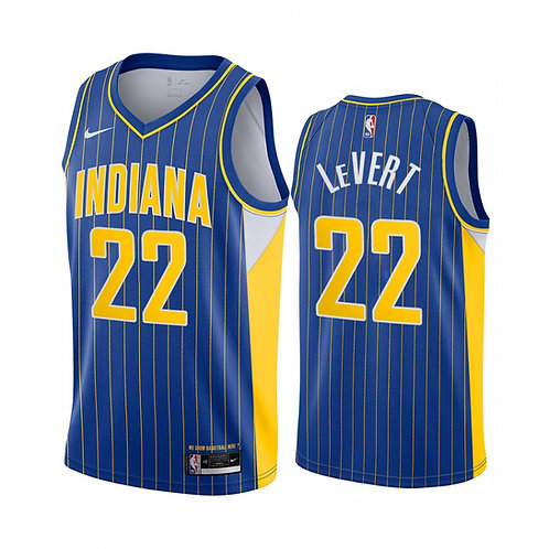 Indiana Pacers City Edition Blue Forması