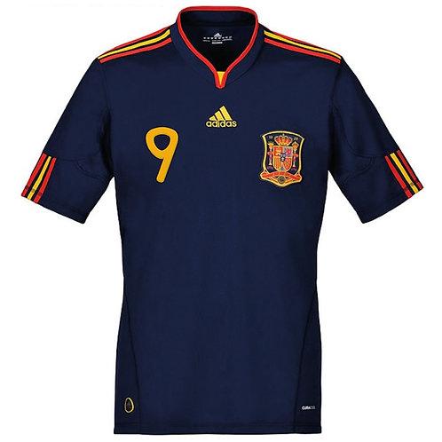 İspanya 2010 Uzun Kollu Deplasman Final Forması