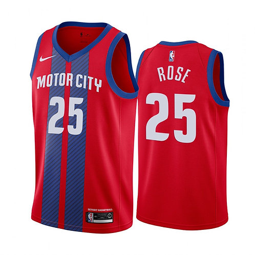Detroit Pistons 2020 City Edition Forması